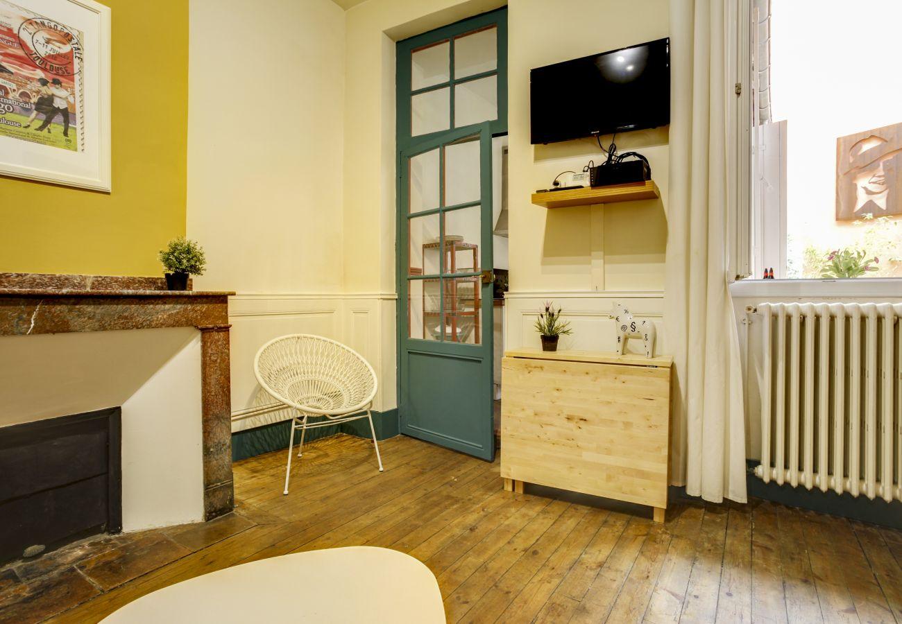 Appartement à Toulouse - GARDEL CARLITOS Terrasse Parking