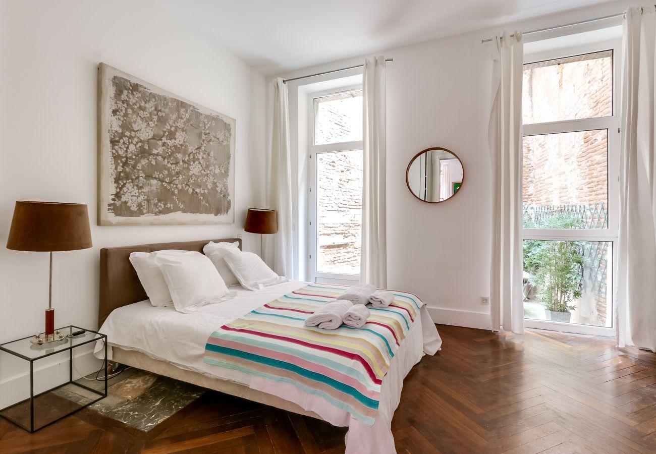 Appartement à Toulouse - POMME Terrasse Hyper Centre