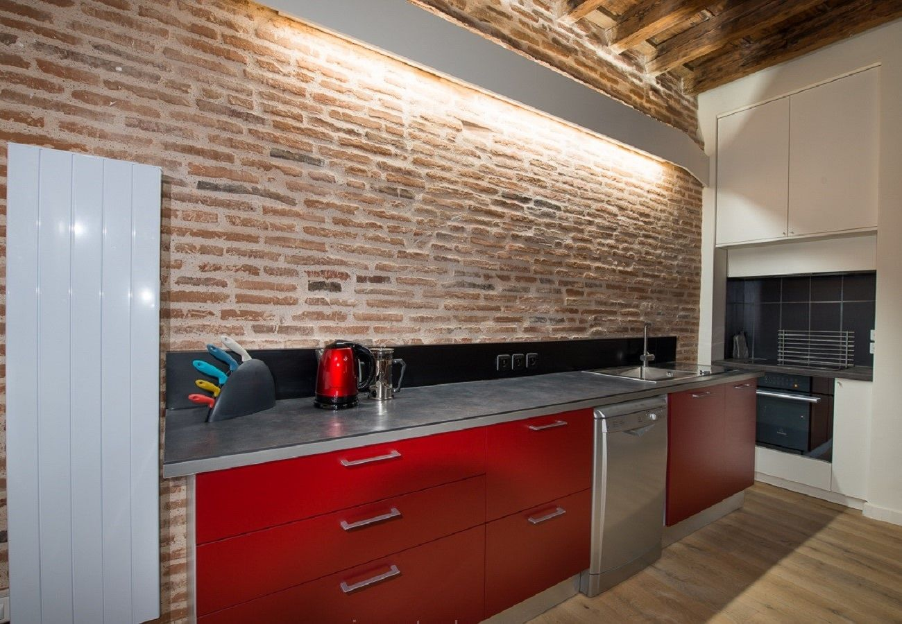 Appartement à Toulouse - ESQUIROL CHANGES Balcon Hyper Centre