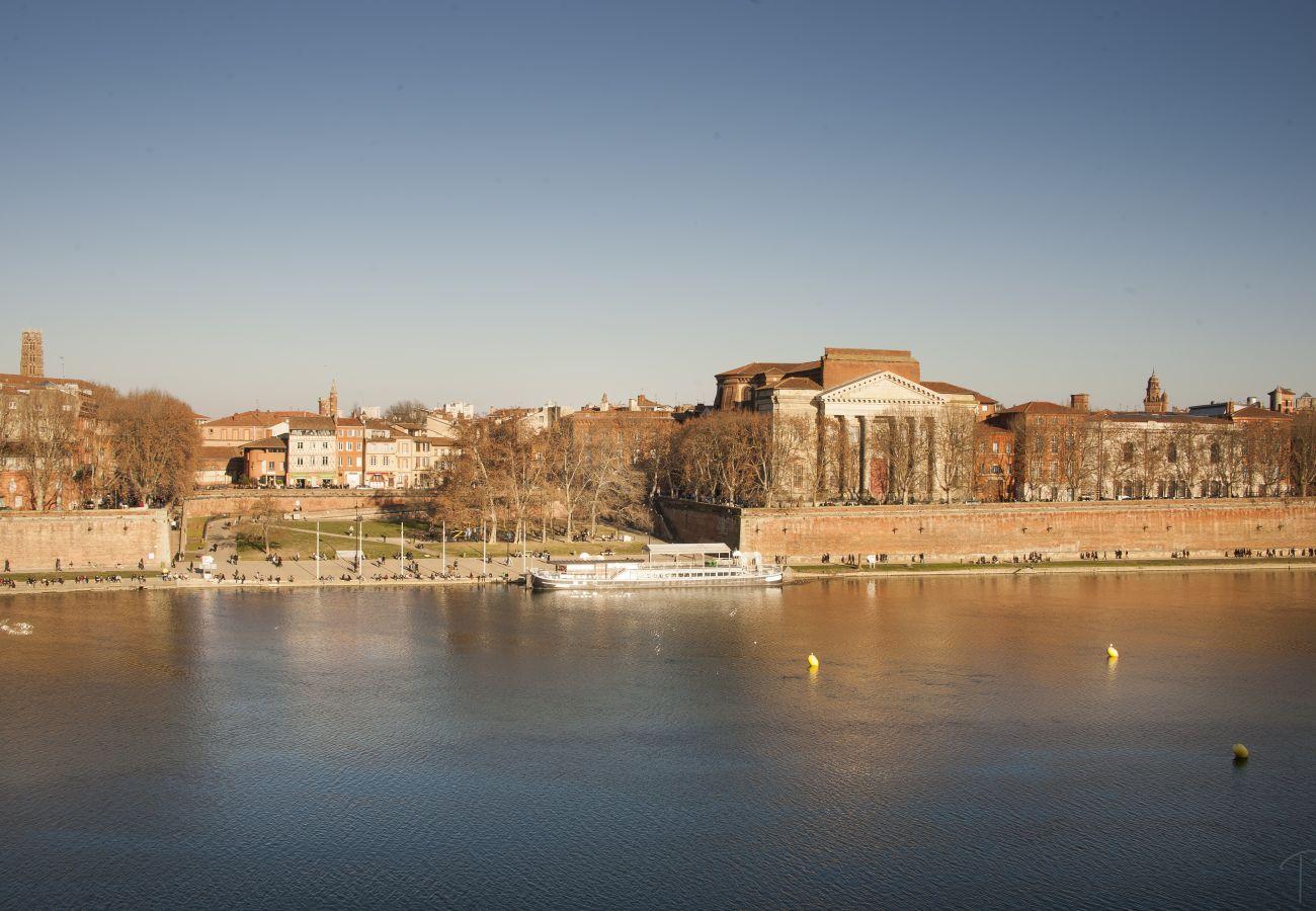Appartement à Toulouse - PALAIS DE JUSTICE TERRASSE Hyper Centre