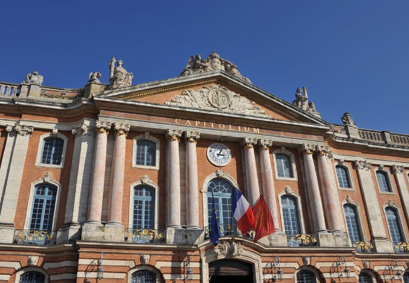 Studio à Toulouse - DUPUY Balcon Parking Hyper Centre