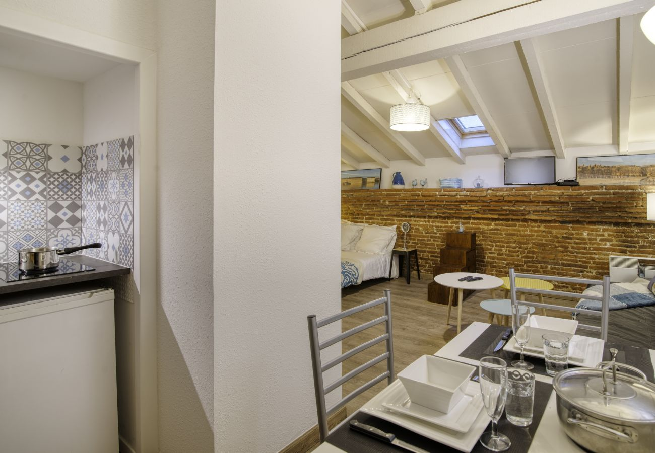 Studio à Toulouse - TOITS PLACE DU CAPITOLE Hyper Centre
