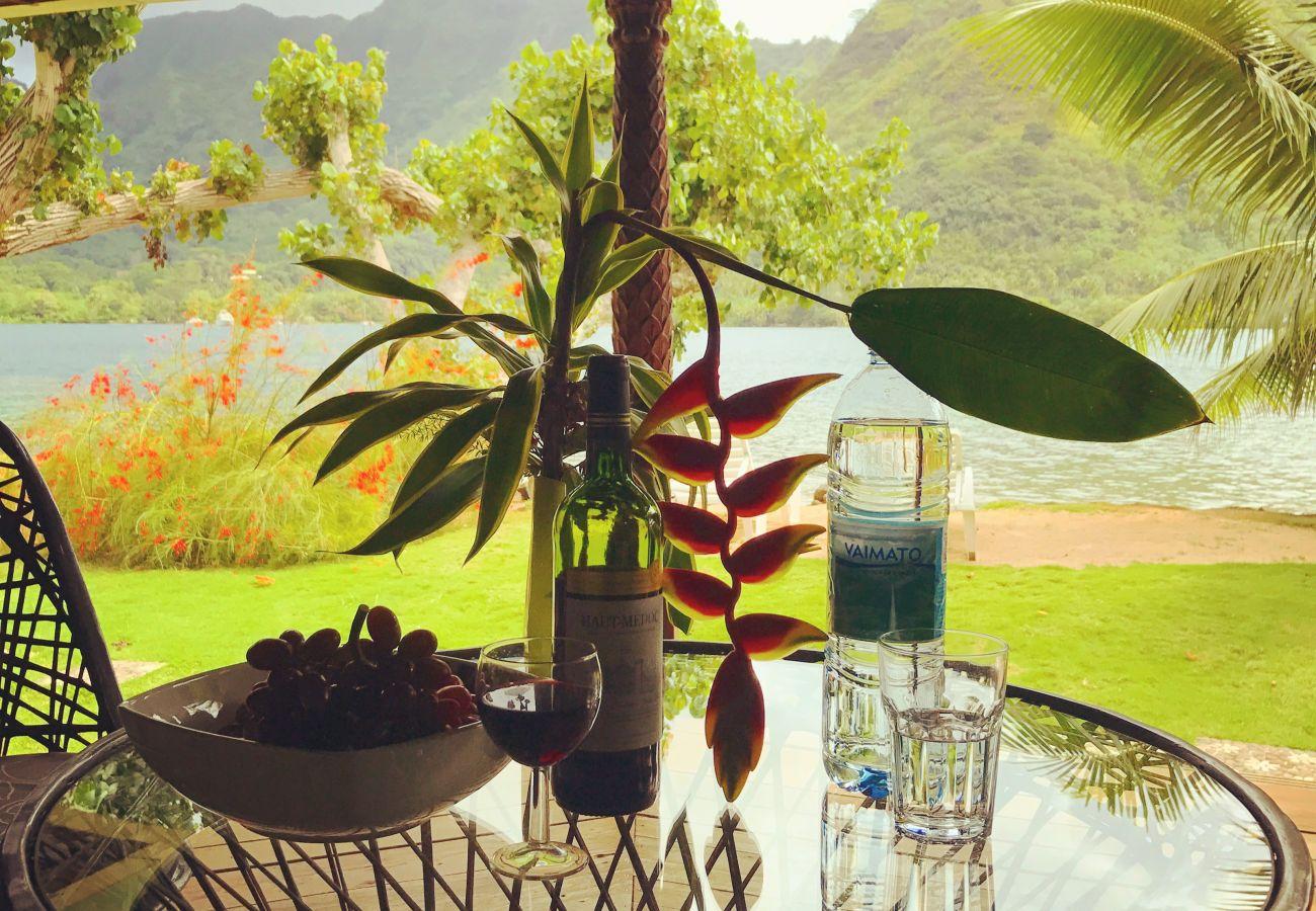 Bungalow à Papetoai - Bougainvilla - Robinson's Cove