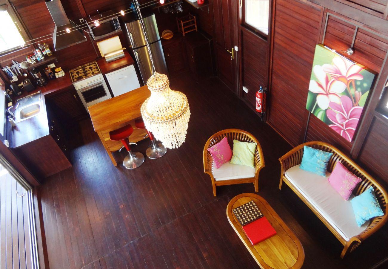 Villa à Papetoai - Beach Villa Wallis - Robinson's Cove